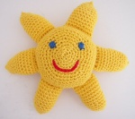 Vauvan aurinkolelun virkkausohje